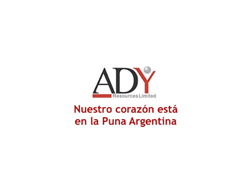 Logo ADY RESOURCES LIMITED